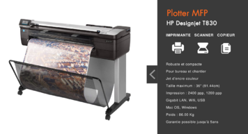 Plotter, Traceur Multifonctions